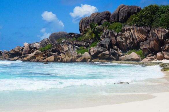 Seychellen stranden