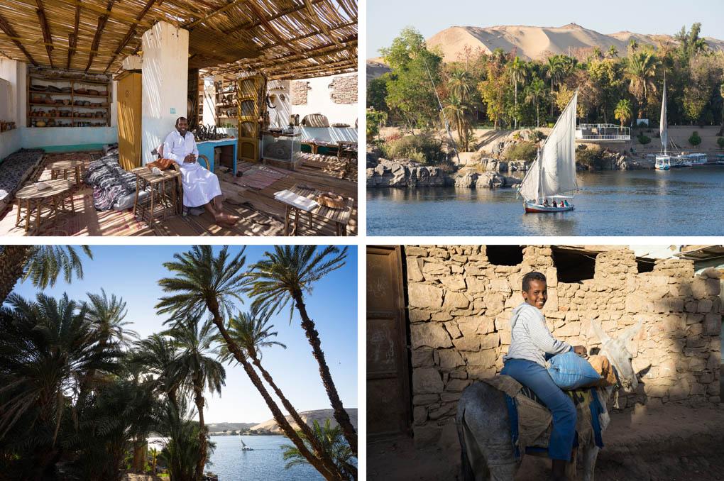 Elephantine Island Egypte