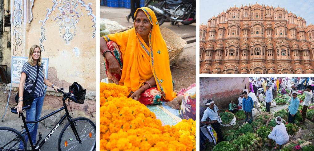 Jaipur fietsen