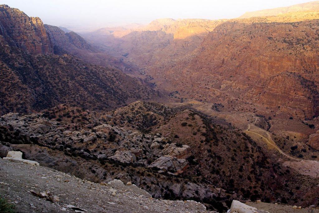 Dana Nature Reserve Jordanië