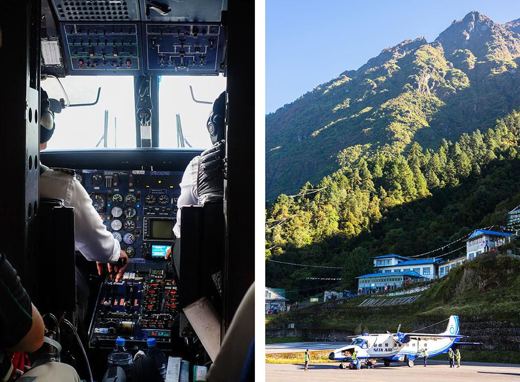 gevaarlijkste vliegveld ter wereld lukla Nepal