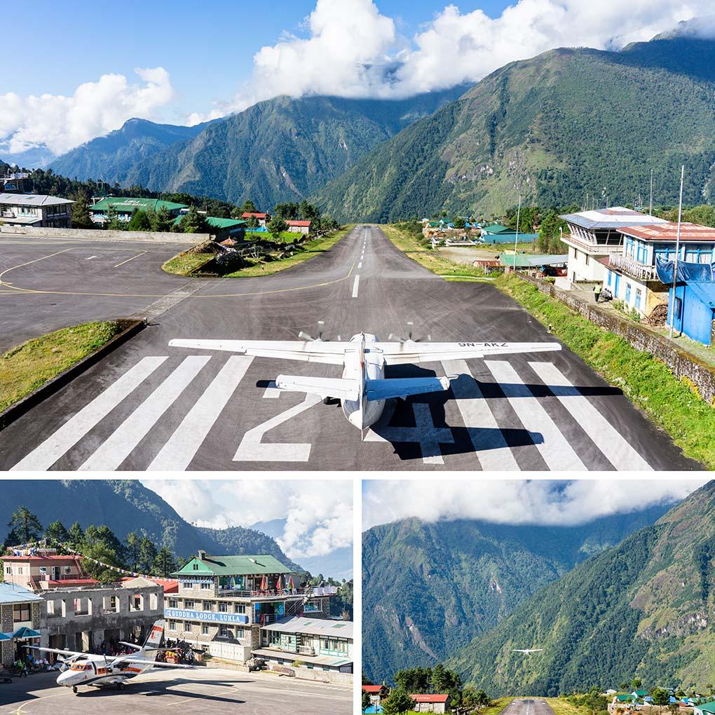 vliegveld Lukla Nepal