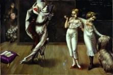 Interior with Sudden Joy, Dorothea Tanning (1951)