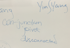 "The practice of writing ""Yin-and-Yang"" often pretends to be a conjunction of two concepts when really presenting a preference by disjunction ""Yin-OR-Yang."""