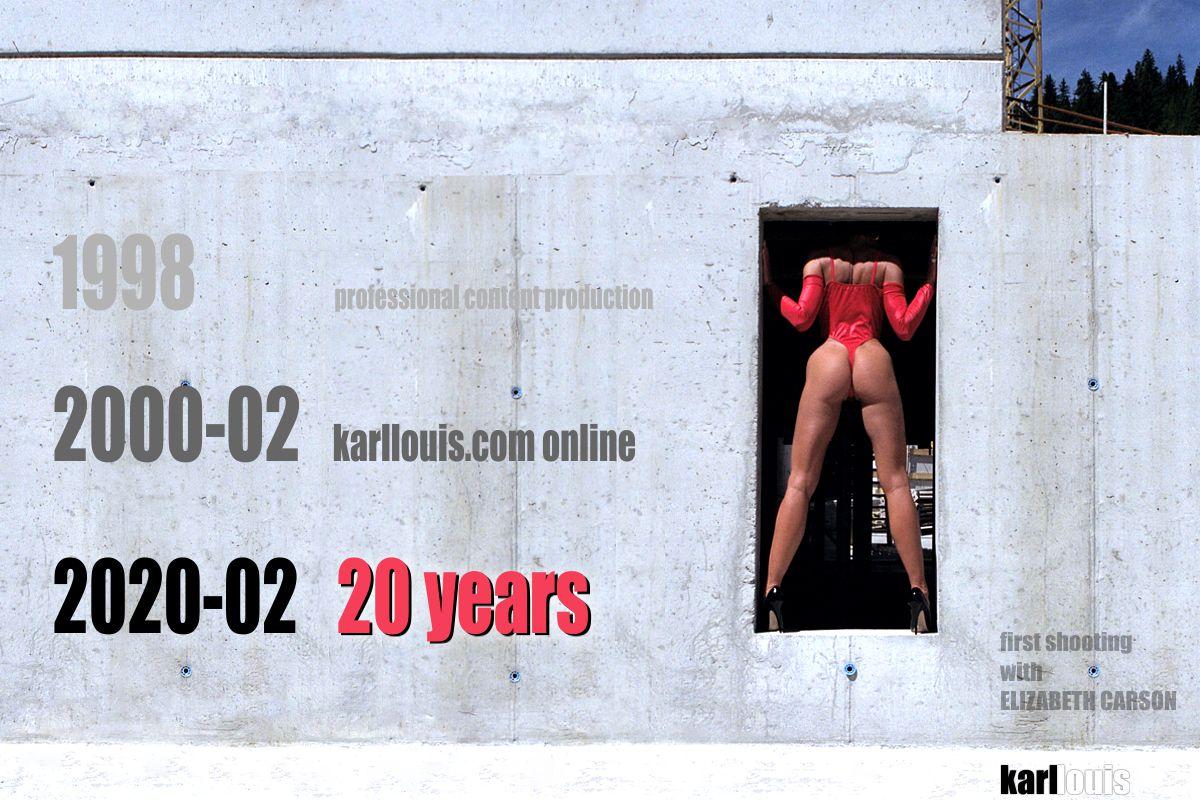 20 years anniversary karllouis.com