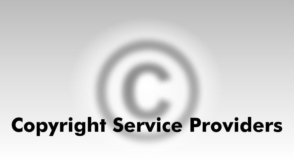Copyright Service Provider