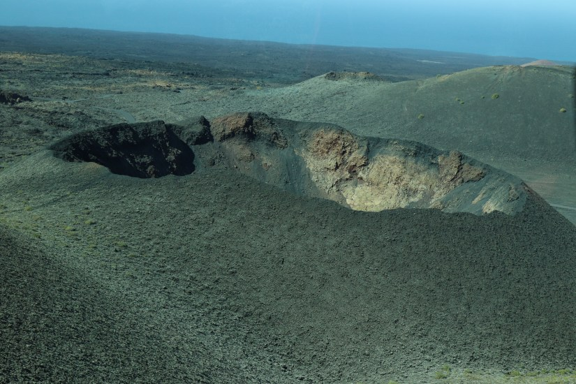 Volcanic Craters in the Timanfaya National Park