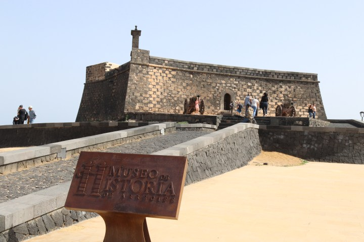 Museum of Arrecife where you can discover more about Lanzarotes turnulent history
