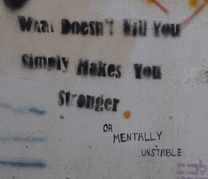 Quirky street art in Tel Aviv
