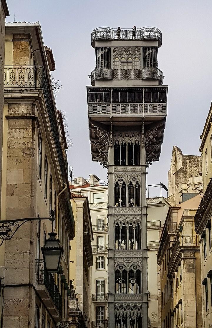 Elevador Santa Justa, Lisbon Itinerary