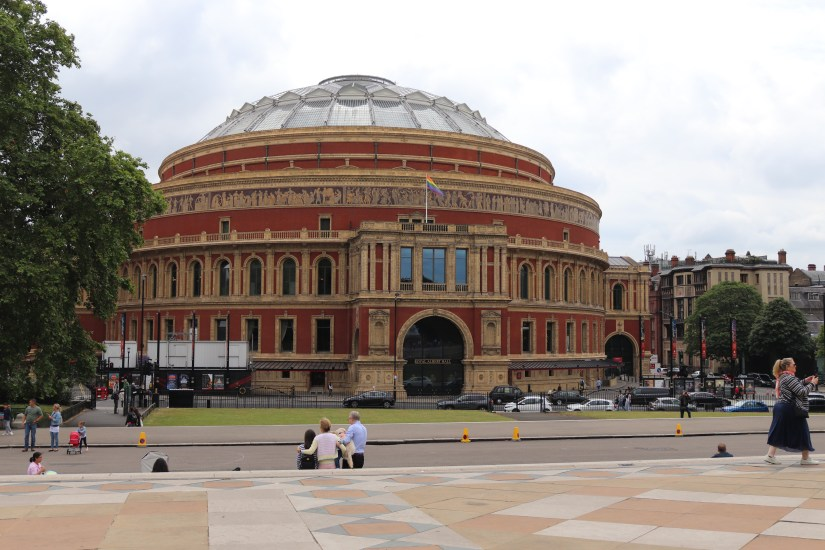 Royal Albert Hall from Kensington Gardens