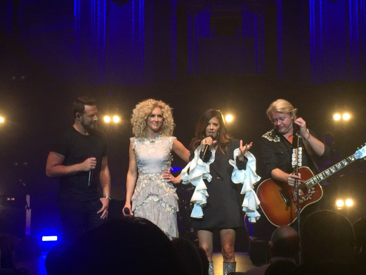 Little Big Town live on stage at the Royal Albert Hall