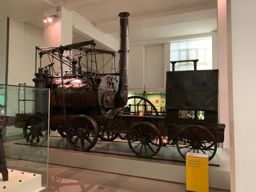 Puffing Billy, the worlds oldest steam locomotive
