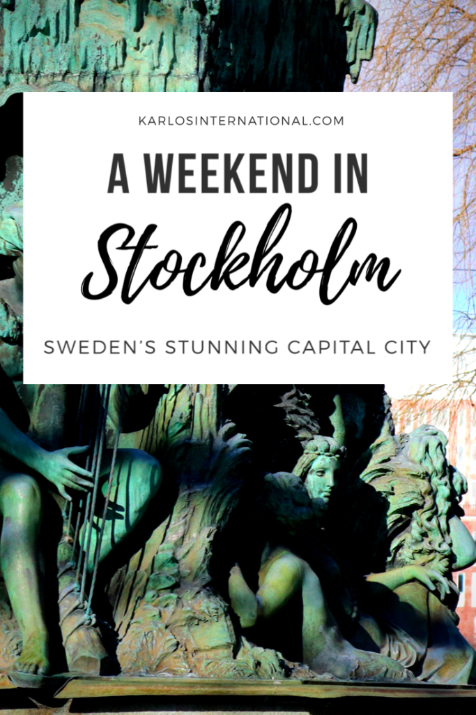 A weekend in Stockholm - Pinterest Pin