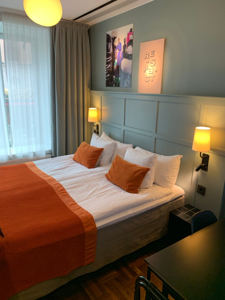 Rooms at the Scandic Grand Central