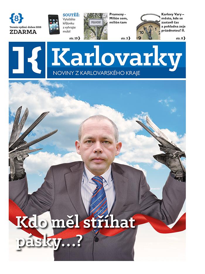 Červencové vydání Karlovarek ke stažení ve formátu pdf
