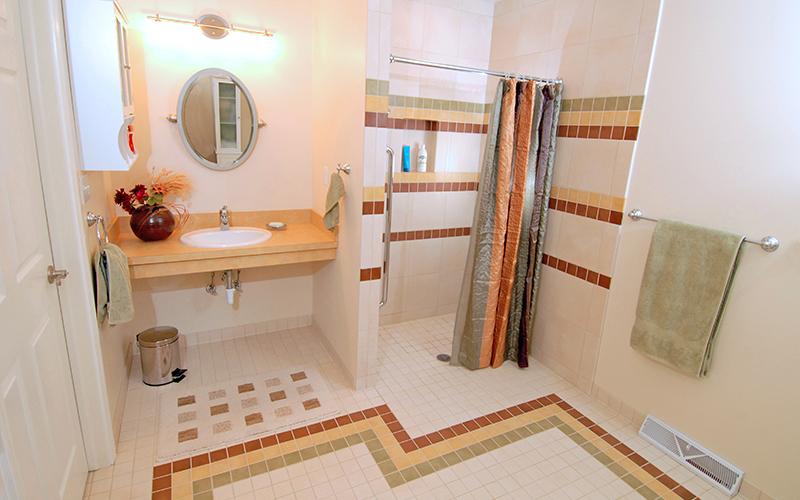 ADA Compliant Bathroom  Karlovec  Company  Shaker
