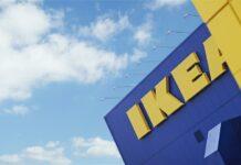Ikea Logo mit blauen Himmel