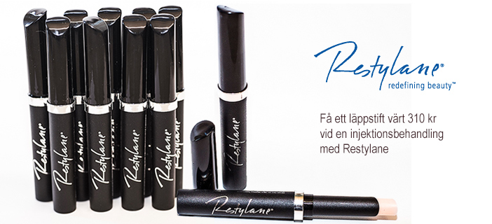 Restylane Lip and Cheek Tint Kampanj
