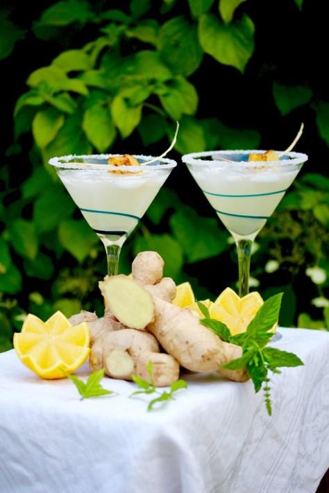 Ginger Lemon Drop