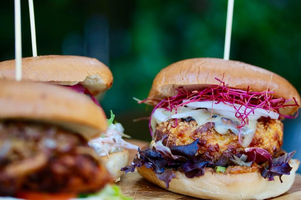 Vegetariska hamburgare – mig kan man aldrig lita på!