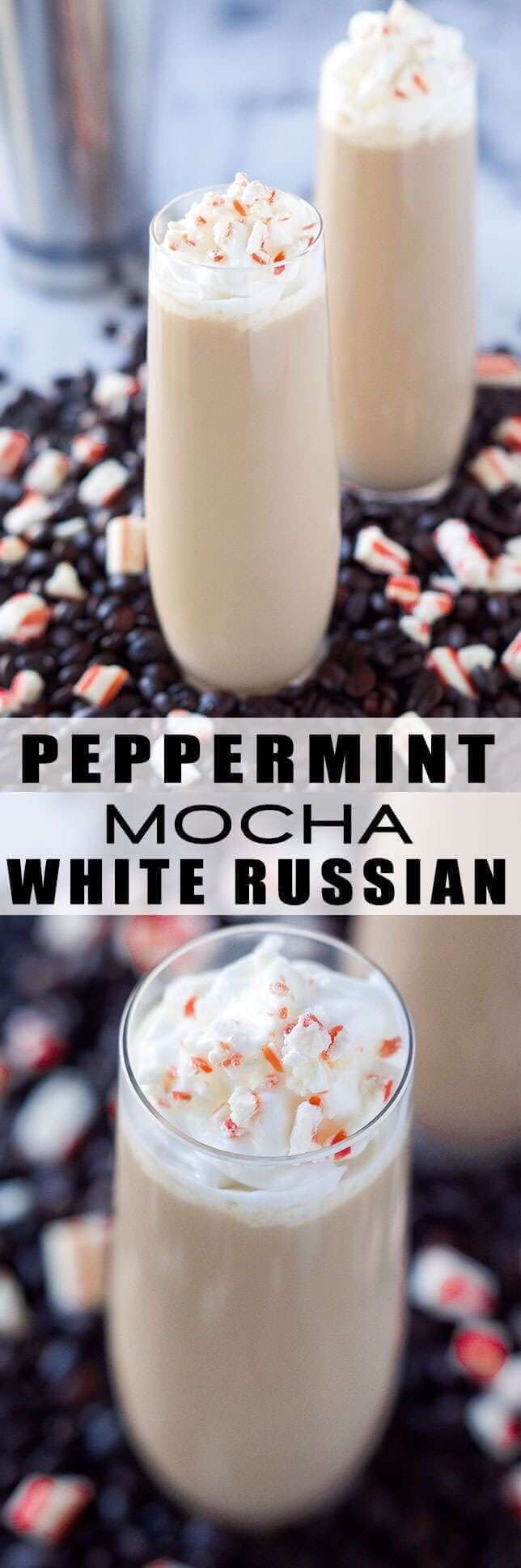 Peppermint Mocha White Russian