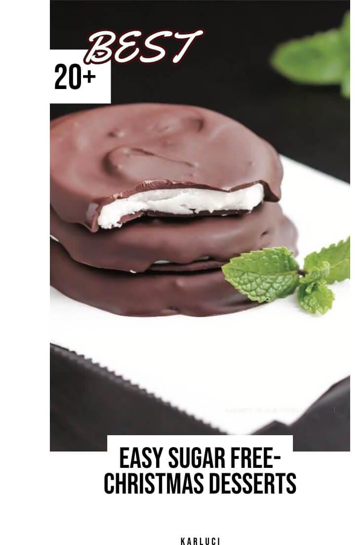 20 Easy Sugar Free Christmas Desserts