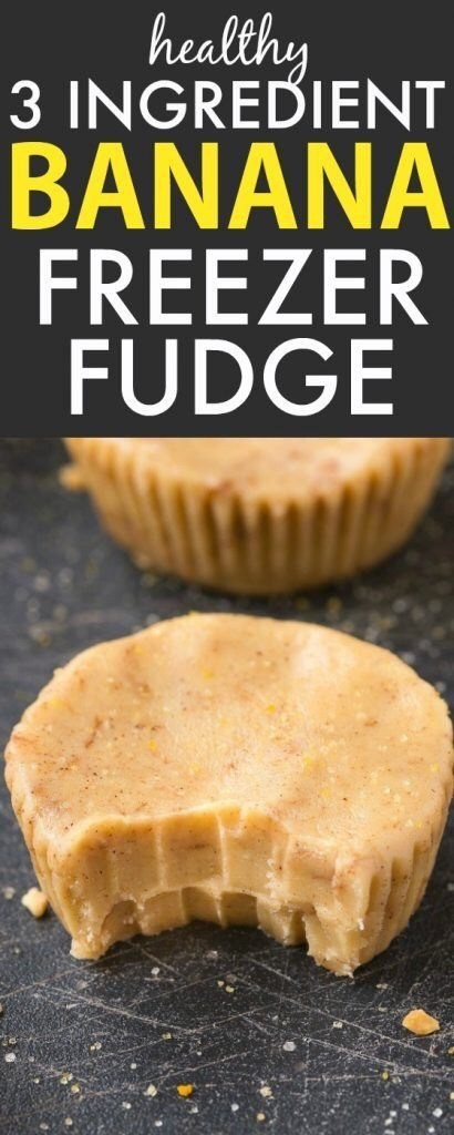 Banana Freezer Fudge