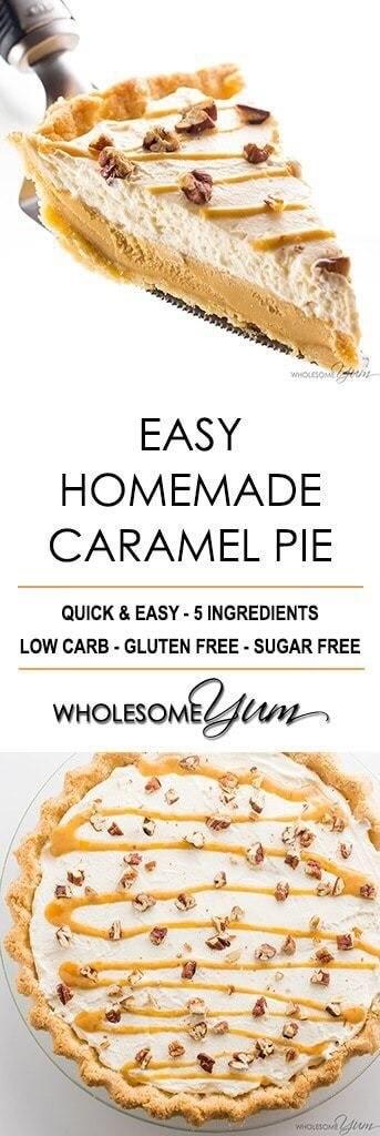 Homemade Caramel Pie