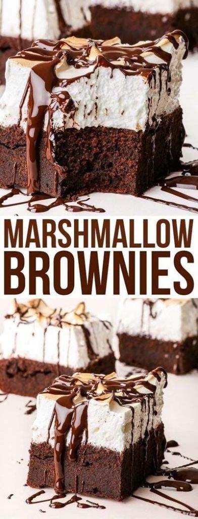 Marshmallow Brownies(1)