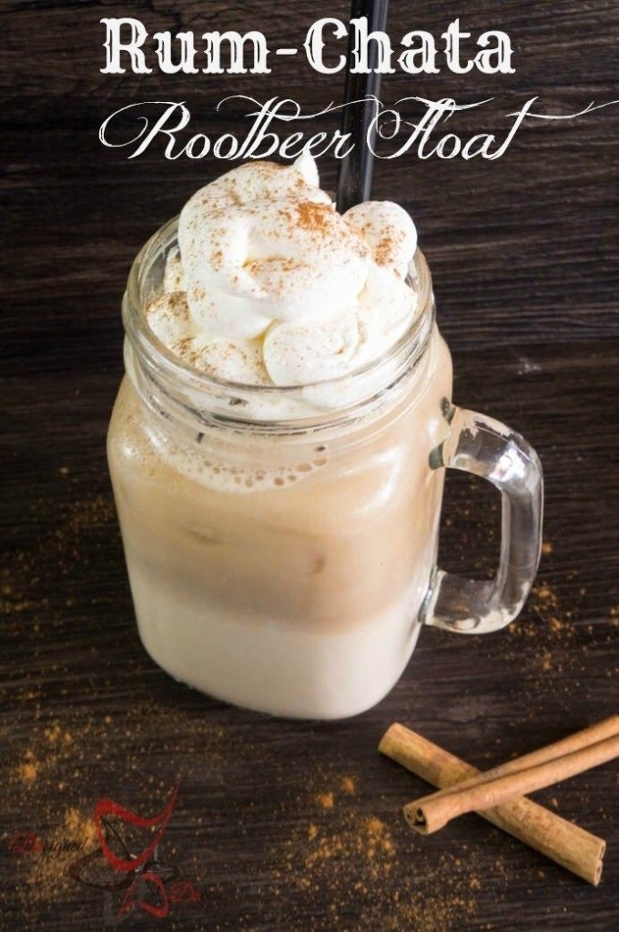 Rum Chata Root Beer Float
