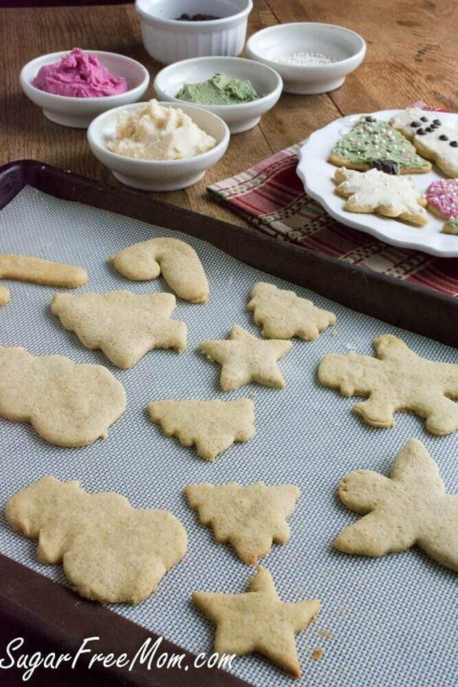Sugarless Sugar Cookies