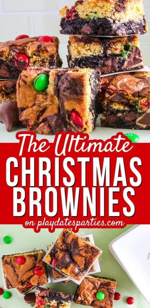The Ultimate Christmas Brownies
