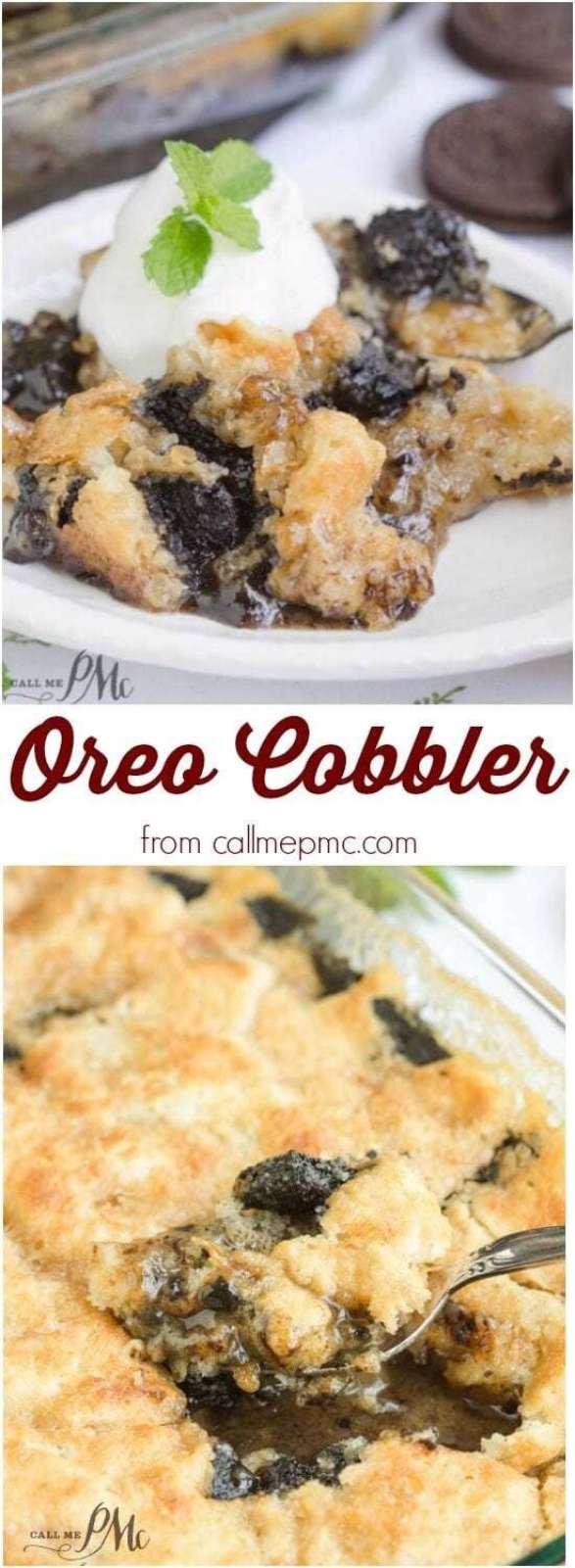 Oreo Cobbler