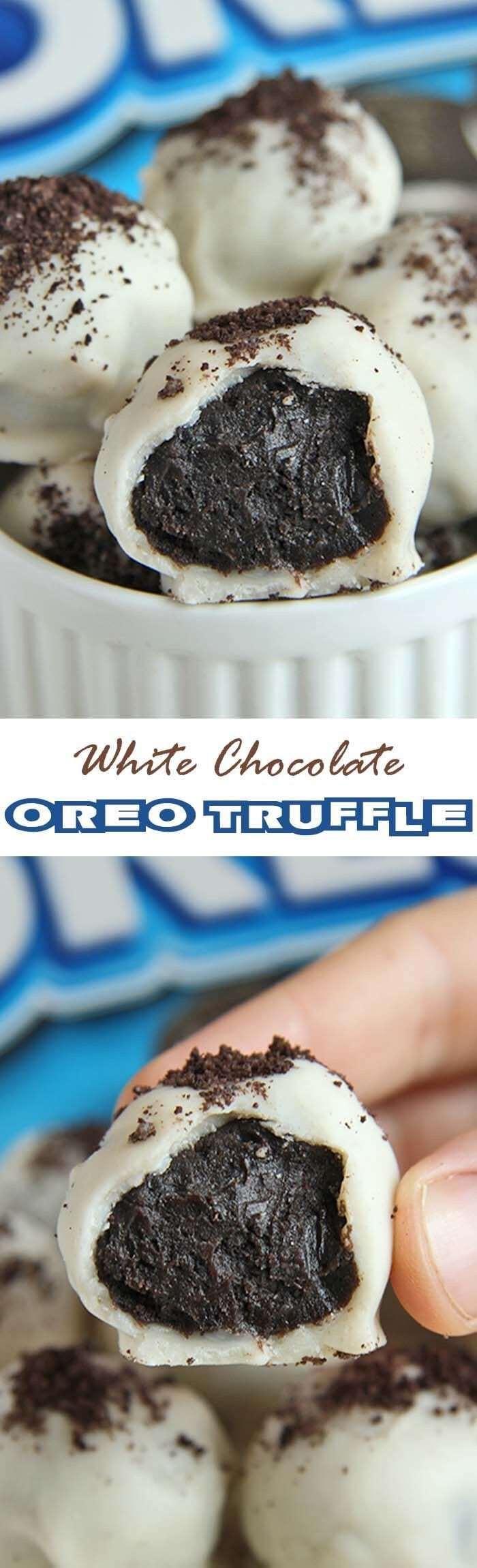 White Chocolate Oreo Truffle