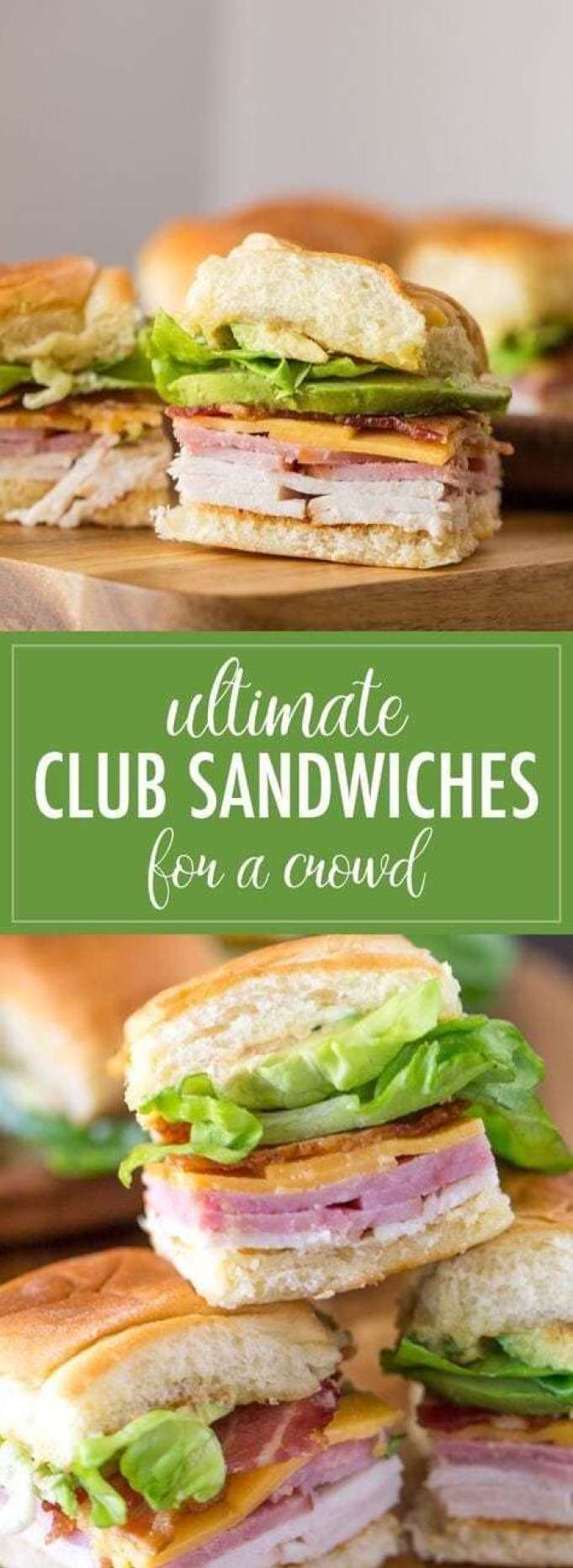 Ultimate Club Sandwiches - - 20 Best Croissant Sandwich Recipes