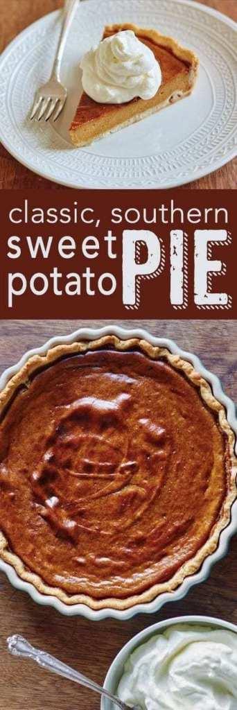 Classic, Southern Sweet Potato Pie recipe