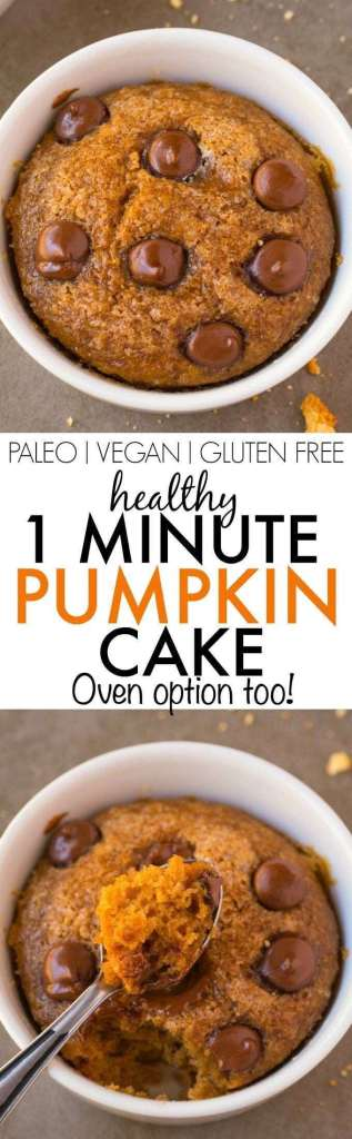 How to prepare Healthy Pumpkink Mug cake