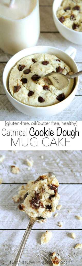 Oatmeal Cookie Dough Mug Cake Recipe