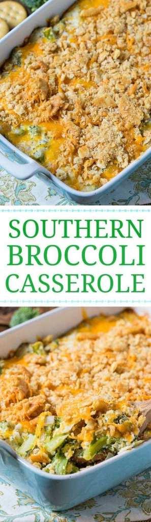 Southern Broccoli Casserole recipe
