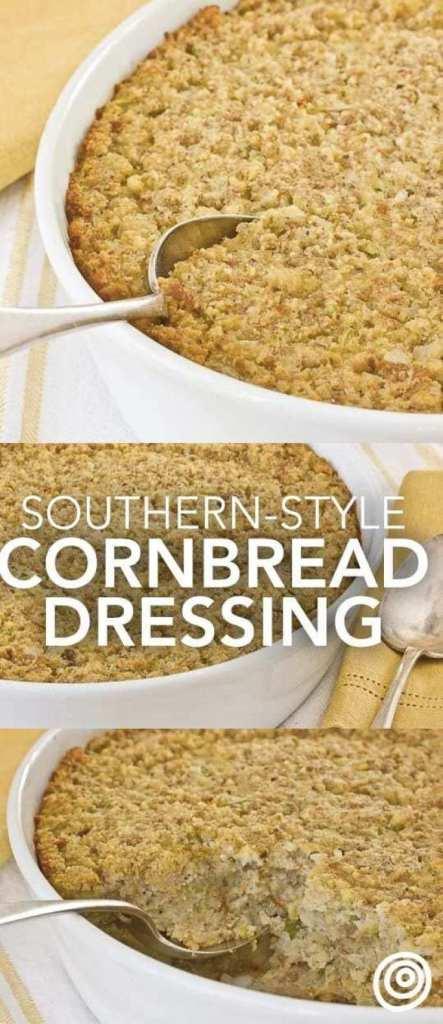 Southern-Style Cornbread Dressing recipe