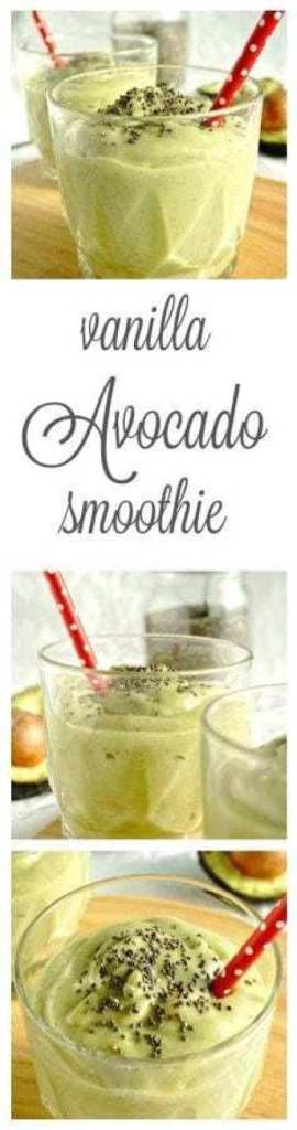 Vanilla Avocado Smoothie