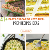 41 Easy Low Carb Keto Meal Prep Ideas