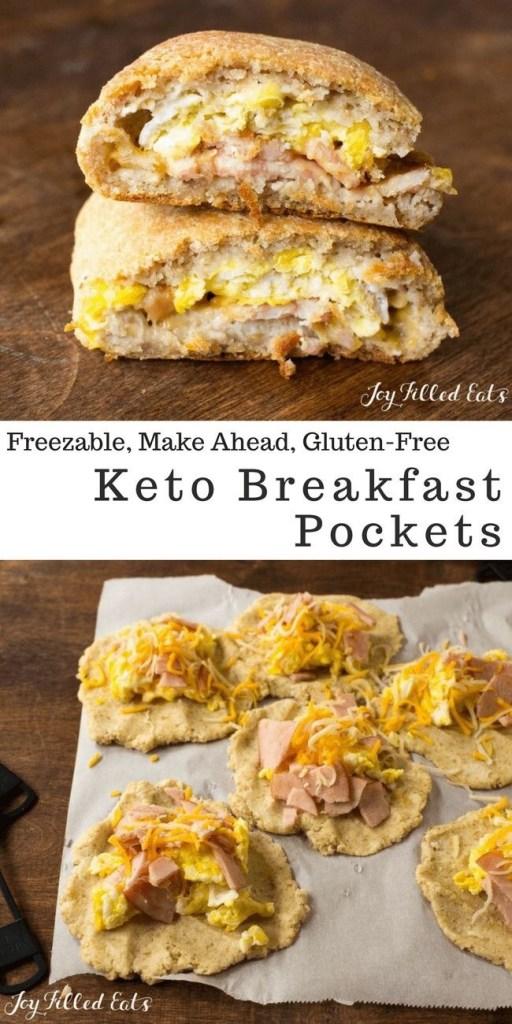 Keto Breakfast Pockets