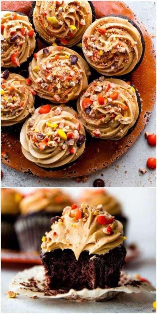 Super Dark Chocolate Cupcakes