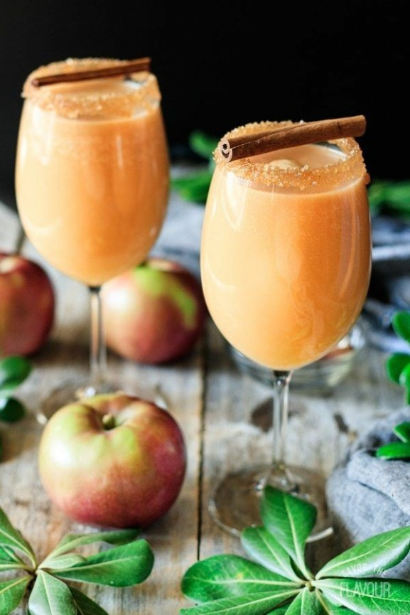 Caramel Apple Mocktail