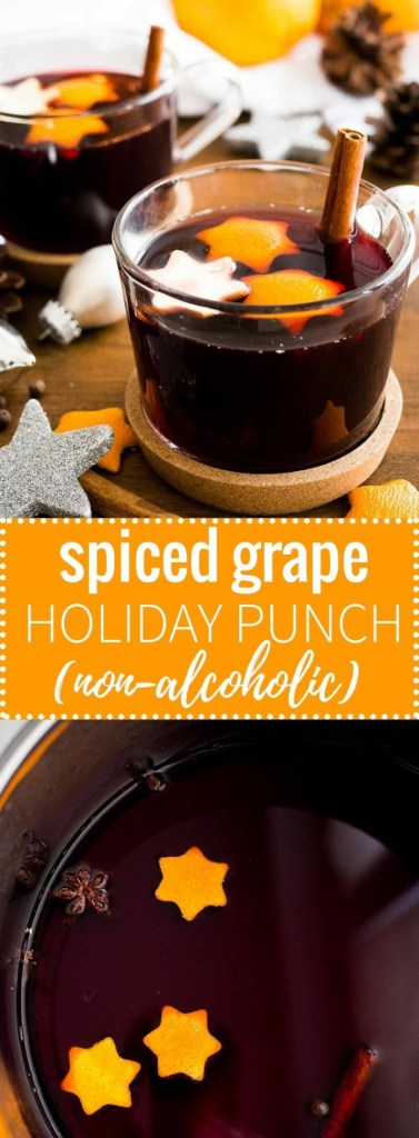 Spiced Grape Holiday Punch