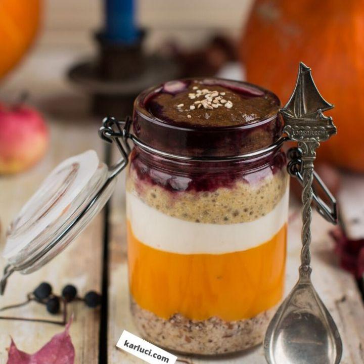 Pumpkin Chia Pudding Recipe