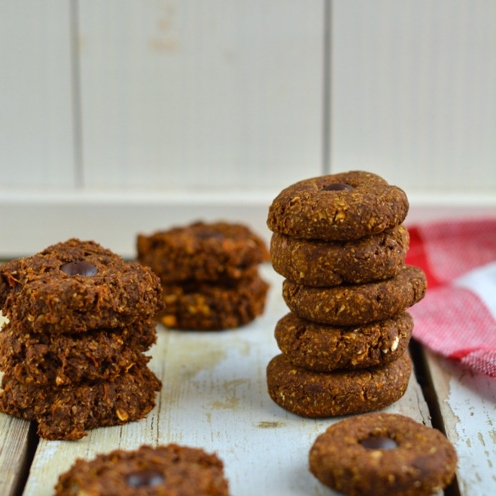 Soft Pumpkin Gingerbread Cookies