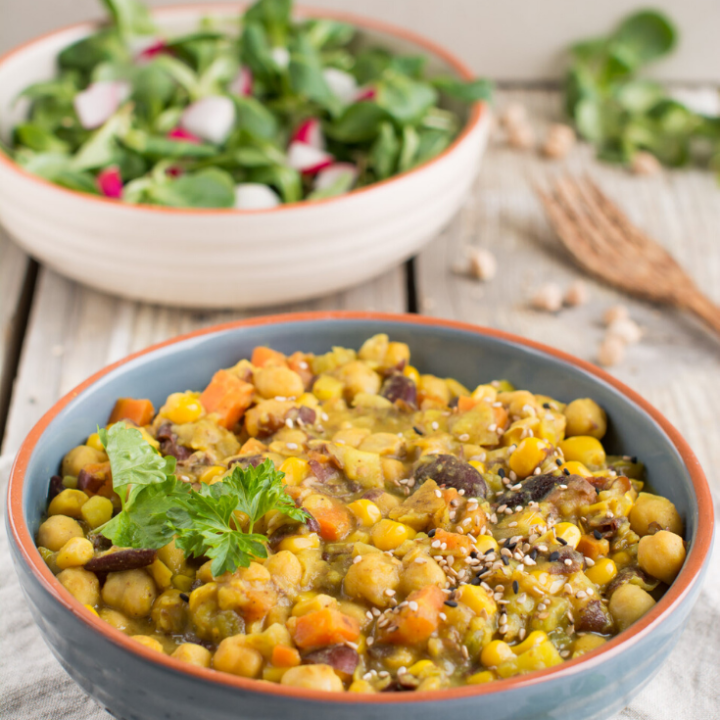 Hearty Vegan Curry
